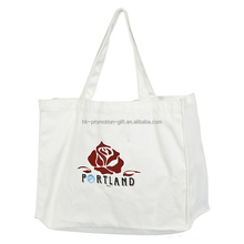 Most Popular High Quality Custom Reusable Cotton Shopping Tote Bag, Large Capacity Shopping Tote Bag Cotton