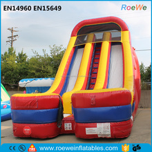Interactive 24 Foot Giant Inflatable dual lane Slide Party Rental