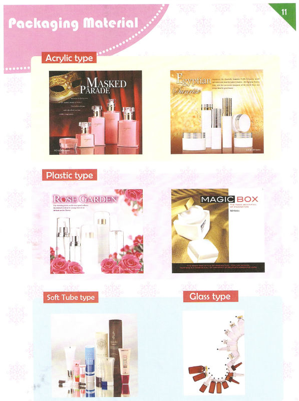 OEM Cosmetics- For Your Own Brands Packaging Material