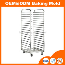 Good quality commercial bun pan bakery rack trolley rack for bakery