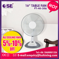 china supplier office timer oscillating table fan