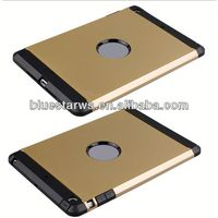 2014 high quality pctpu blocks combo case for ipad mini for ipad mini tpu pc combo case