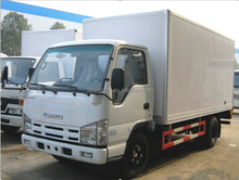 japan 190hp 4x2 15t van truck for sale