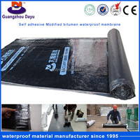 Factory Price Self Adhesive Waterproof And Breathable Roofing Rubber Membrane