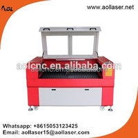 co2 laser cutting machine for wood bamboo acrylic art craft felt leather cutting and engraving
