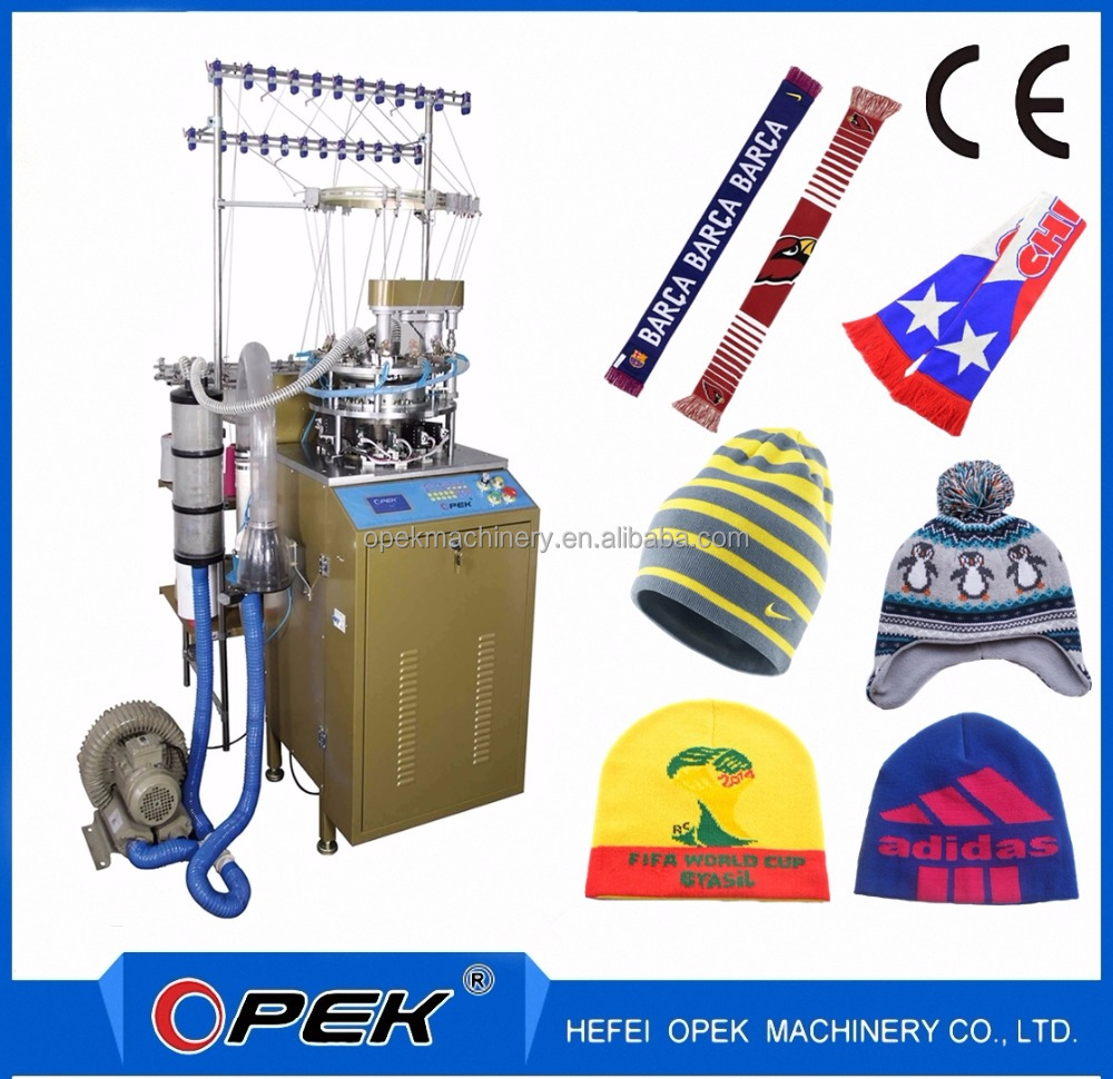 Fully Automatical Beanie Cap Knitting Machine Manufactory