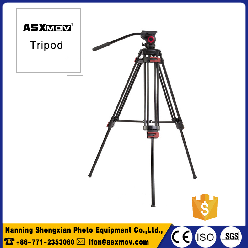 Cheap aluminum camera tripod ballhead travel use