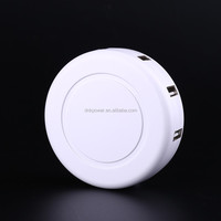 Round multi usb charger with 6 usb port, usb charging station