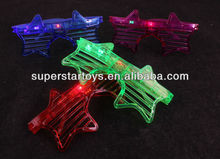 star shaped party flashing glasses for children various designs are available