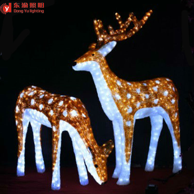 Christmas outdoor decoration animated led christmas reindeer view christmas outdoor decoration animated led christmas reindeer mozeypictures Images