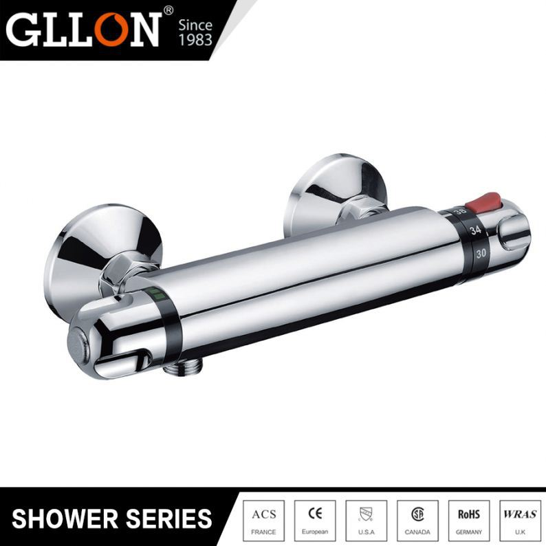 Top1 manufacturer thermostatic brass chrome plated bathroom fittings names