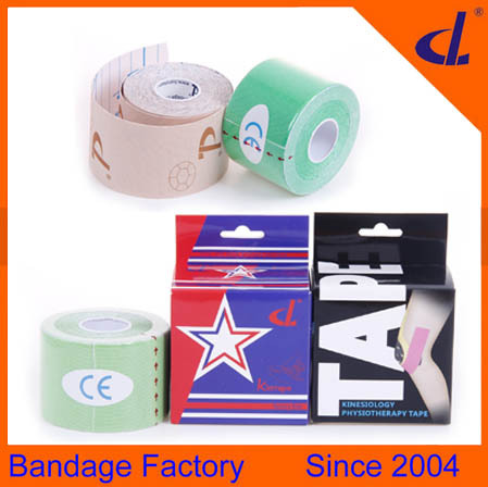 Hot sale high-quality 5cm*5m Sport Uvioresistant kinesiology tape