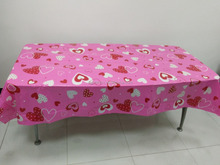 peva solid table cover, decorative dining table cover, restaurant wholesale vinyl tablecloths