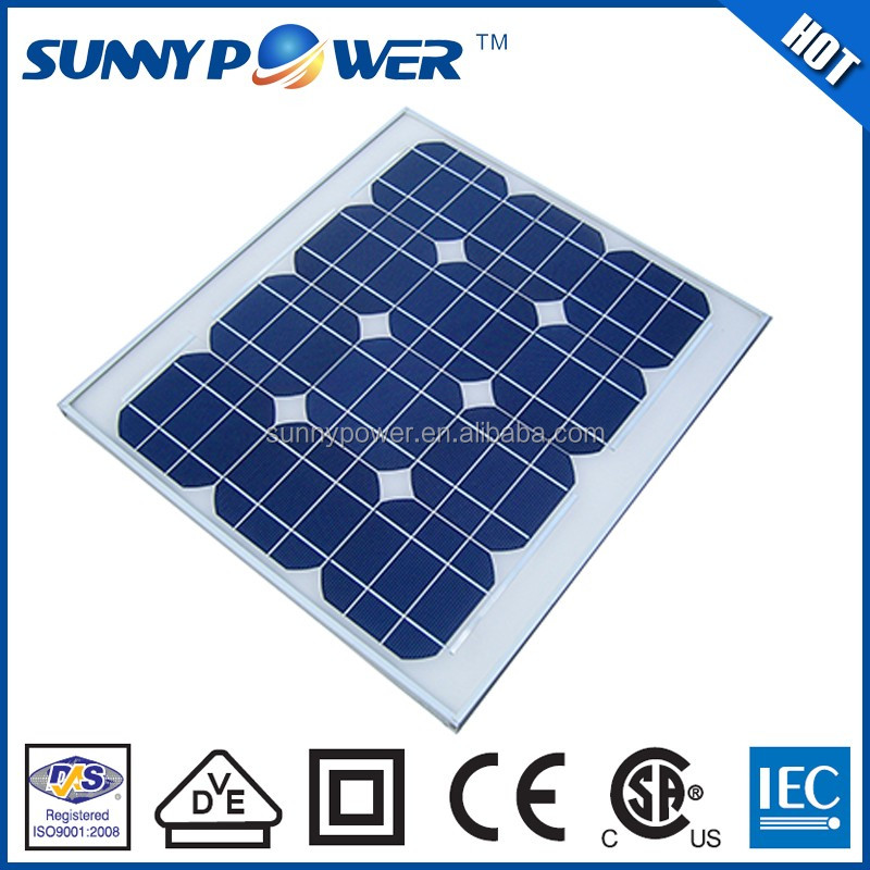 New design 30 w solar energy equipment with (CEC)& CE certificate