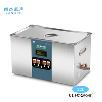 Professional tank size 500*300*150mm(L*W*H) air filter ultrasonic cleaning machine
