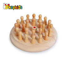 2017 wholesale kids wooden chess set,new design children wooden chess set,wooden chess set W11A046