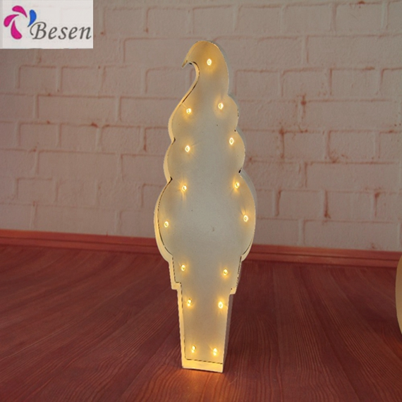 Love Beautiful Standing Decorative Marquee Letter Light Long Lasting Battery Led Living Room Decoration