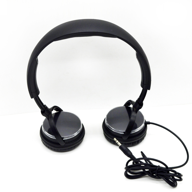 New products 2017 bulk items silent disco cheap stylish headphone