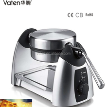 Vaten Hot sell double flat waffle pancake maker pizza maker with CE,CB