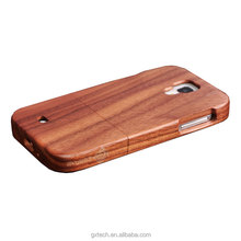 Natural Genuine Walnut And Rose Wood Cell Phone Cases for Samsung s4 Hard Back Wooden Cover Case