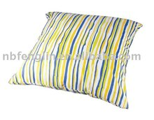 colorful stripe cushion