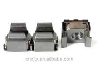 Spencial cage nut, Cap Nut,Wing Nut with zinc plated spring steel lock cage nut