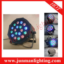 18pcs RGB Led Par Light Led Par64 DJ Lighting Flat Led Par Light