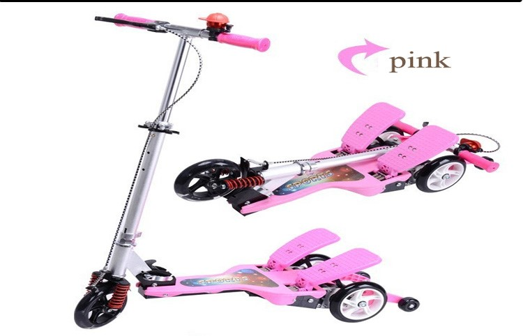 Dual Soft Exercise Scooter Bike Pedal