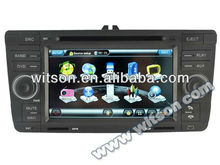 WITSON car stereo for Octavia II with Dual Zone Function