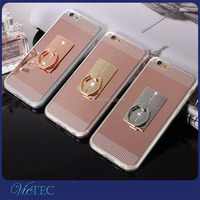 Soft tpu key holder phone case for iphone 5 5g,mobile phone ring holder for iphone 6 6s