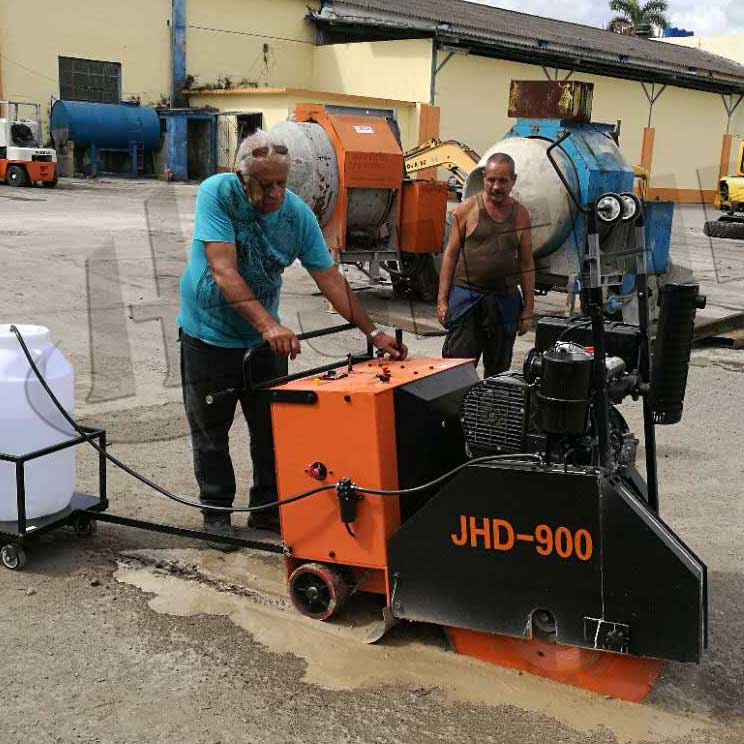 JHD-900 Concrete Saw Cutting Machine With Diesel Engine