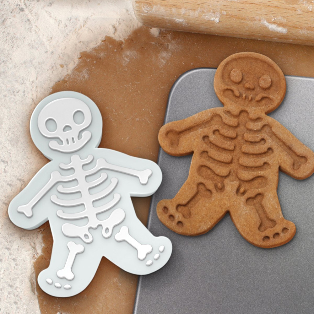 Food Grade Christmas Cookie Stamp,Custom Silicone Cake Bake Mold,New Gingerbread Man Cookie Cutter