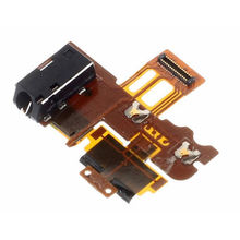Headphone Jack for Blackberry Z30 AudioJack Power Button Flex Cable Part