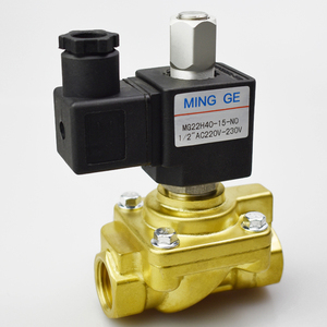 1/2 inch 220V AC 24V DC 40bar normally open solenoid valve water valve gas pneumatic valve