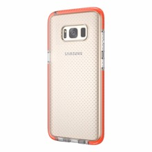 High Quality Brand Designer Shockproof Soft TPU Transparent Phone Case For Samsung