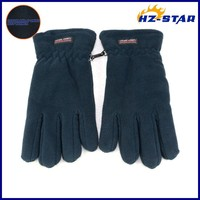 HZS-13197011 Hot sale 2015 sample black double ply women's free sample snow black protective men blue driving gloves
