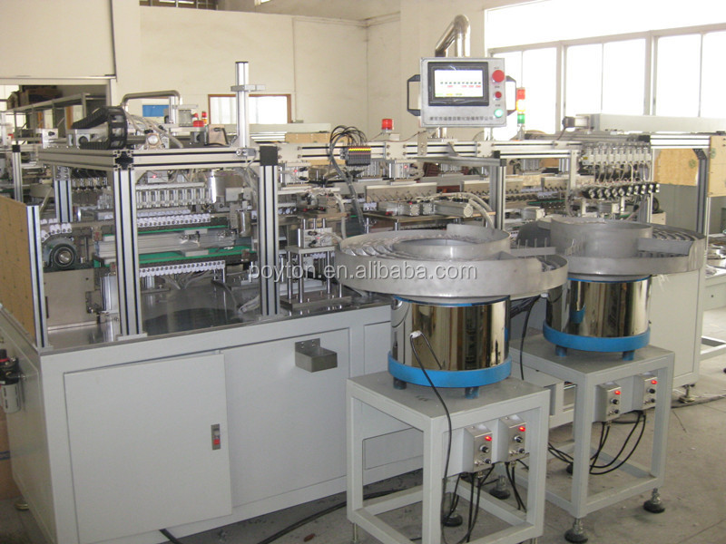 China top quality infusion set assembly production line