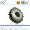 ISO DIN standard pitch 25.4mm 29T high freguency hardening simplex roller chain sprocket finished bore keyway
