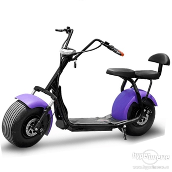 Leadway new electric scooter with LED lights