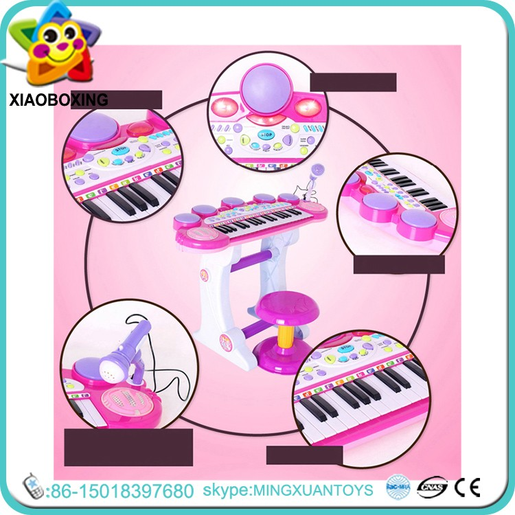 Baby educational toys cheap piano keyboards sale toys plastic musical instruments