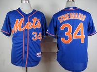 New York Mets Noah Syndergaard #34 Blue Cool Base Jersey