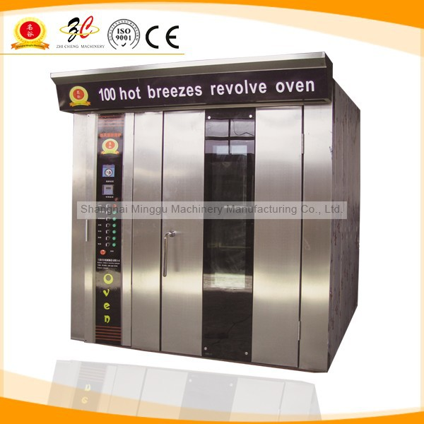 2015 Newest!!! CE&ISO9001 gas ,diesel and electric bread baking rotary oven