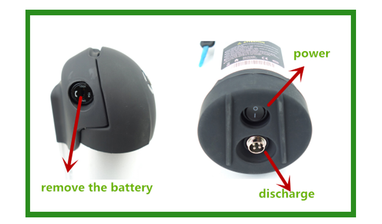 New design 48v volts 10.4ah bottle type rechargeable ebike accu battery with low price