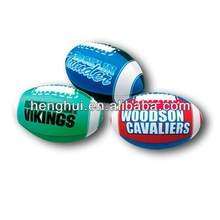 PU Rugby stress ball toys with logo printed