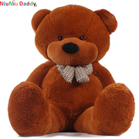 Niuniu Daddy Promotional Cheap Big Teddy Bear Skins Cute Kids Toy Unstuffed Soft Plush Giant Teddy Bear for Sale