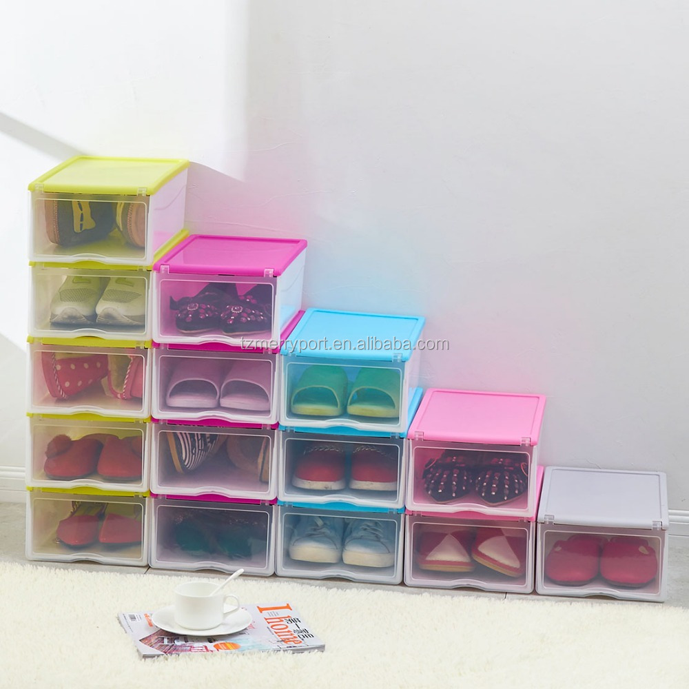 Heavy Duty Capacity Plastic Storage Box PP Material Plastic Bins with Lid