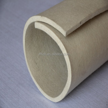 Wool felt wholesale/10mm white felt