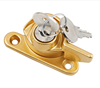 Sliding Window Crescent Lock With Key