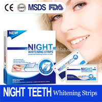 Professional Teeth Whitening Strips Night Use, better than common 3d whitenning strips