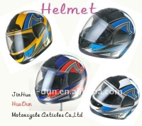 Accept custom dot ece approved motorcycle helmet full face helmet